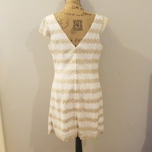 Lilly Pulitzer Dresses - Lilly Pulitzer Gold and White Special Occasion